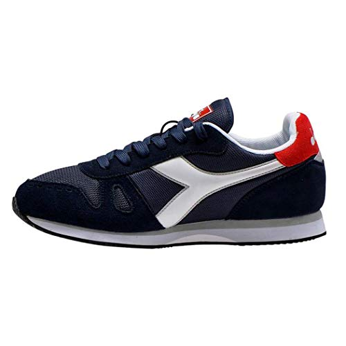 Diadora Simple Run, Scarpe da Fitness Uomo, Blu Blue Corsair 60063, 40 EU