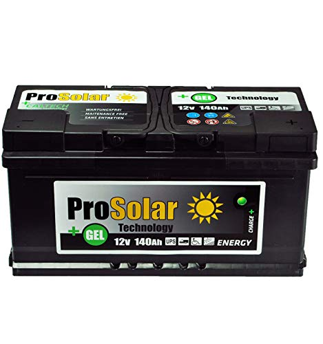 Solare Batteria 140Ah GEL alimentazione solare non richiede manutenzione