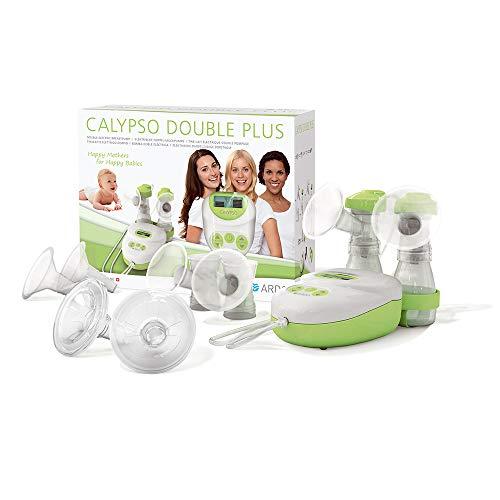Ardo Calypso Double Plus elektrische Doppel-Milchpumpe – Ultra leise Muttermilch abpumpen – Sichere und einfache Bedienung – BPA-frei