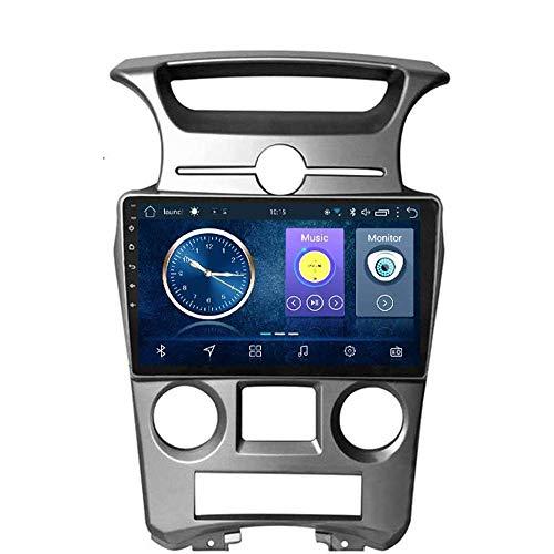 Radio Android 8.1 GPS Navegación Radio TV, pantalla táctil de 9 pulgadas, para Kia Carens 2007 – 2011, con control en el volante, Bluetooth, USB, FM, AM estéreo, 4G + WiFi: 2 + 32G Auto