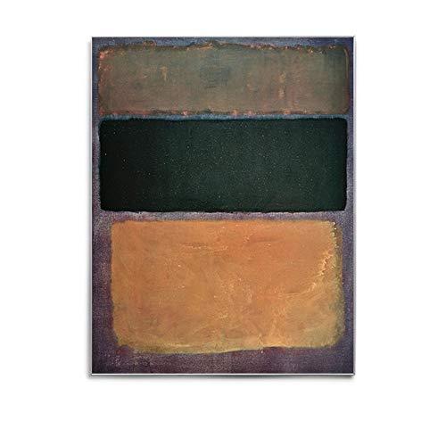 LiMengQi2 Cartel de diseño de Lienzo, Cuadros de Bloques de Color de Arte Moderno en la Pared, utilizados en el Pasillo del Dormitorio de la Sala de Estar (No Frame)