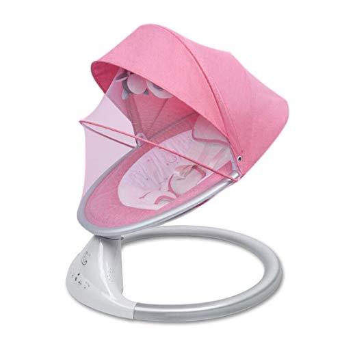 BAFYZ Intelligente deurstandaard voor pasgeborenen stoel, elektrische schommel, multifunctioneel, met muziek, kan verbinding maken met Bluetooth