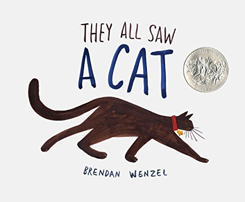 They All Saw A Cat (Cat Books for Kids, Beginning Reading Books, Preschool Prep Books)