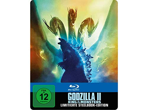 Godzilla II: King Of The Monsters - Exklusives 2D Steelbook