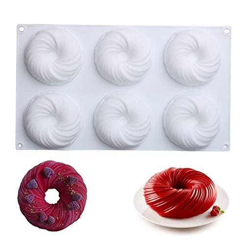 ALUY Silikon Backform Kuchenform Besondere Backform für Küche Seifenform Kuchenform...