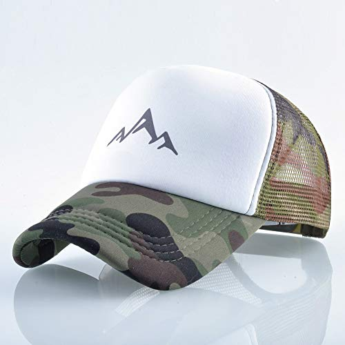 AdronQ Cap Sommer Berg Atmungsaktiv Baseball-Mütze Männer Und Frauen Baseball Cap Casual Herren Trucker Hut Verstellbare Snapback Hut