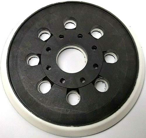 Plato de apoyo con velcro de 125 mm de diámetro, para lijadora orbital Bosch GEX 125-1 AE, PEX 220 A, PEX 220 AE, Skil 7402/7490.