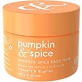 Pumpkin Spice Clay Enzyme Facial Mask - Removes Pimples, Pore...