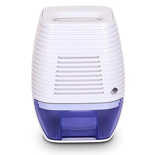 Besmira Portable Mini Dehumidifier 300ml Electric Safe Dehumidifier for Bedroom, Home, Crawl Space, Bathroom, RV, Baby Room