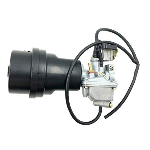 Nefelibata 13200-43F00 13200-04431 13200-04430 LT50 Carburetor with Air Filter Box fits Suzuki Quadrunner LT 50 LT50 LT-A50 LT-A 50 JR50 2002 2003 2004 2005 ATV Carb
