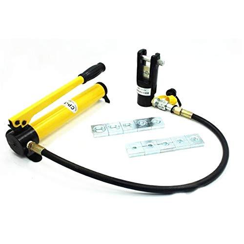 Werkzeuge 20T Split Hydraulische Klemmkraft Klemme Klemme Druckbereich 16-300mm2 maximale Hub 20 mm mit Handhydraulikpumpe Werkzeuge
