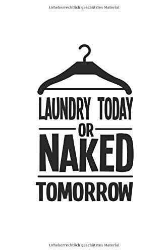 Notizbuch: Wäsche Waschen Single Kind Nackt Lustig Geschenke 120 Seiten, 6X9 (Ca. A5), Punktraster