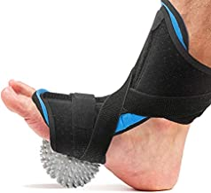 Plantar Fasciitis Night Splint, Caretras Adjustable Brace Support Unisex Fits for Right or Left Foot, Arch Support/Ankle Night Brace Effective Relieve Pain for Achilles Tendon Drop Foot