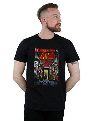 DC Comics Herren Batman Rogues Gallery Cover T-Shirt Schwarz XXX-Large