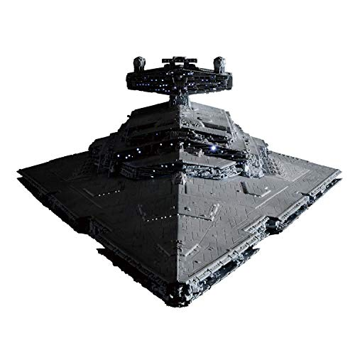 Bandai Spirits Hobby Star Wars 1/5000 Star Destroyer (Lighting Model) Limited Ver. Star Wars, Grey, Model:-