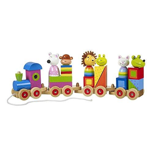 Orange Tree Toys Train Puzzle Animal