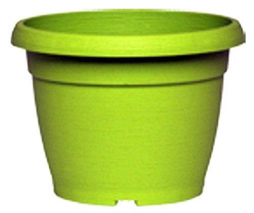 VASO SIMILCOTTO brossé rond vert citron 40 cm