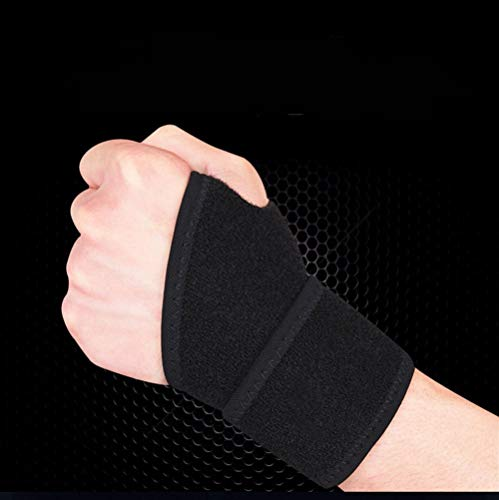 Wsxxn Stärke Gewicht Pressurized Wrist Snorchelmaterial Professionelle Winding Basketball Badminton Bandage Sport-Handgelenk-Anti-Verstauchung Schutz Gürtel Fitness-Handschuhe Männer und Frauen-Traini