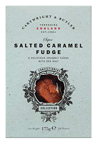 Cartwright & Butler Fudge, Karamell mit Butter Meersalz in Box