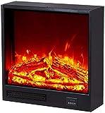 BBJOZ Hornos chimeneas Chimenea eléctrica, Fuego Artificial Chimenea Central, calefacción electrónica Chimenea, luz del LED, 700 × 180 × 600mm