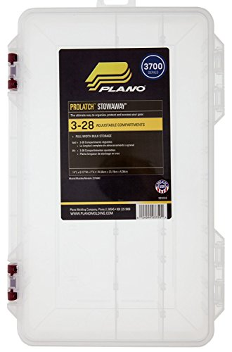 Plano 2375002 Stowaway with Adjustable Dividers and Inhibitor Chips
