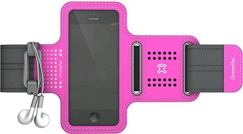 XtremeMac Sportwrap Brazalete caso Rosa - Fundas para teléfonos móviles (Brazalete caso, Apple, Apple iPhone 5, iPod touch 5G, Rosa)