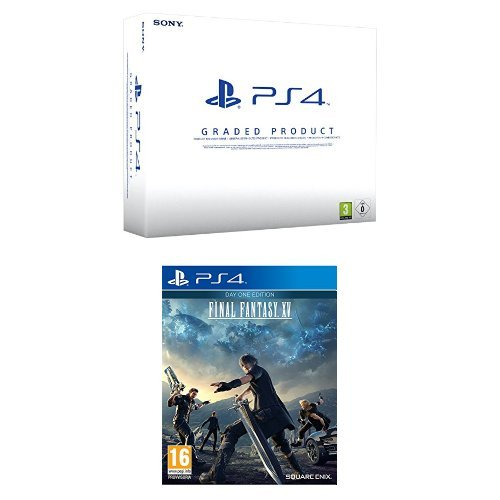 PlayStation 4 500 Gb A Chassis (Ricondizionato Certificato) + Final Fantasy XV - Day One Edition