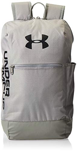 Under Armour Unisex's Patterson Sports Backpack Water Repellent Gym Rucksack with Adjustable Straps, Bag with Storage Slot for Laptops and Tablets, Gravity Green/Gravity Green/Black (388), OSFA