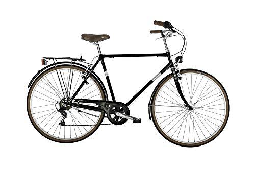 Bicicletta CONDOR Alpina da uomo, 28' e telaio in acciaio 54 cm Nero