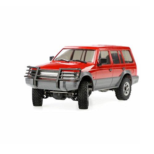 LaDicha Orlandoo-Hunter OH32A02 1/32 4WD DIY Car Kit RC Rock Crawler sin Piezas electrónicas Tamaño del teléfono Celular