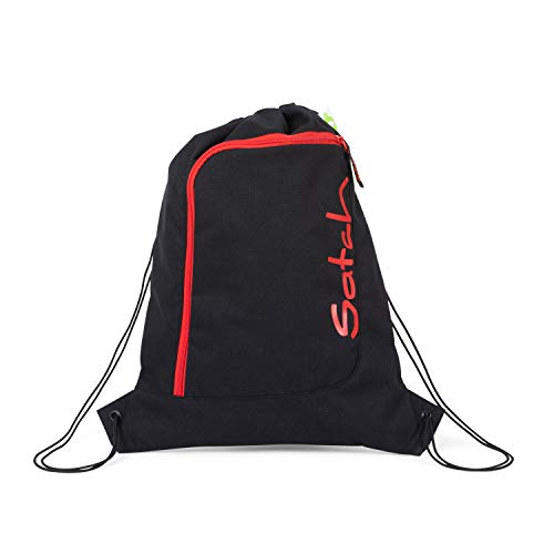 Satch Sportbeutel - 12l - Fire Phantom - Black