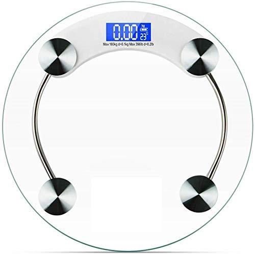 LKK-KK Libra Escala electrónica 0,01 High Precision BLU-Ray Sensor Inteligente del hogar con un Peso Pérdida de Peso Adulto Compatible with la Salud Humana Que Pesa la balanza