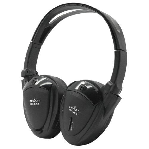 Bravo View IH-05A – Single-Source IR Wireless Headphones