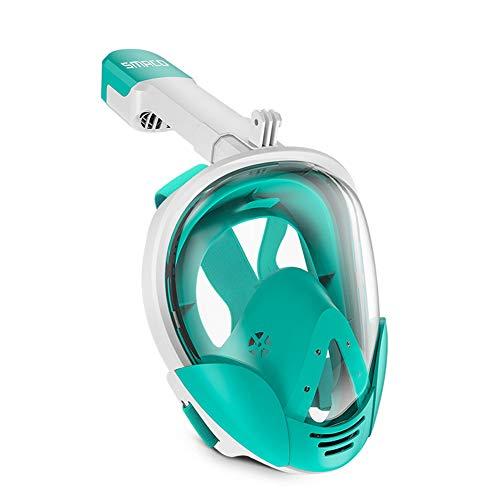 Nerioya Snorkeling Masker, Gemakkelijk Ademen Opvouwbare Snorkeling Gezichtsmasker met 180° Panoramisch Uitzicht voor Volwassenen Kinderen Anti-Mist Anti-Lek Duiken