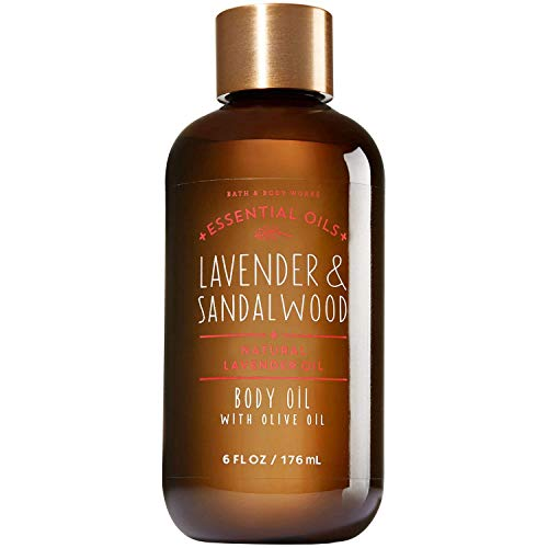 Lavender & Sandalwood Body Oil with Olive Oil