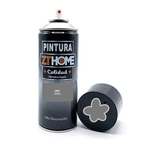 Pintura Spray Gris 400ml imprimacion para madera, metal, ceramica, plasticos / Pinta todo tipo de cosas y superficies Radiadores, bicicleta, coche, plasticos, microondas, graffiti