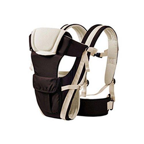 Pixnor Babytrage Baby Träger Ergonomische Träger atmungsaktiv Säugling Baby Tragegurt Tragetuch Känguru Neugeborenen Rucksack