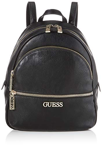 Guess Manhattan, Zaino Donna, Nero (Black), 12x33,5x28 cm (W x H x L)