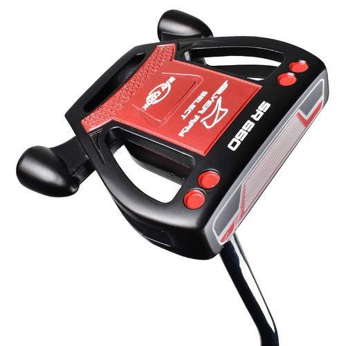 Ray Cook Golf Silver Ray Select SR550 Golfschläger für Linkshänder, 89 cm, Schwarz