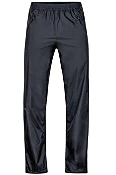 Marmot Men s PreCip Lightweight Waterproof Full-Zip Pant Jet Black Medium