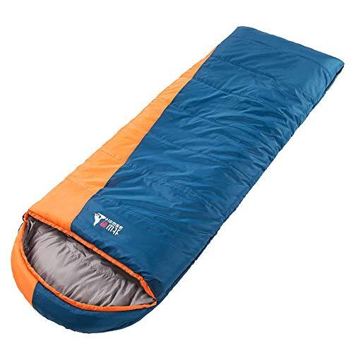 KACT Bolsas de Dormir Adultos Interiores y Exteriores, Invierno Acampar sección más Gruesa calientan el Cuarto Trimestre, los Viajes al Aire Libre, Camping, cómoda y cálida