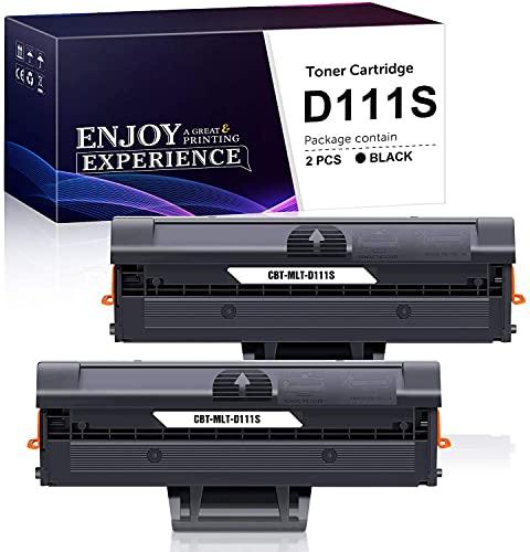 Zambrero Compatibile Toner MLT-D111S Sostituzione per Samsung MLT-D111S D111S Cartuccia Toner per Samsung Xpress SL-M2070 M2070FW M2070W M2070F, SL-M2026W M2026, SL-M2020 M2020W M2022W M2022 (2 Nero)