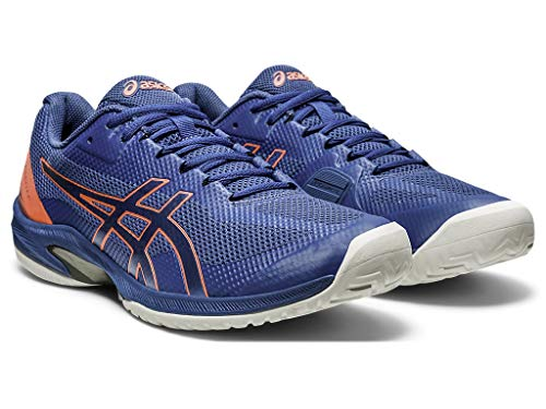 ASICS Men's Court Speed FF Tennis Shoes, 13M, MAKO Blue/MAKO Blue