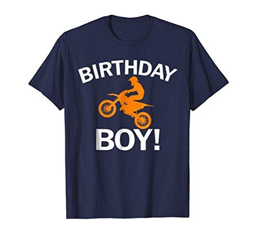 Birthday Boy MX Dirt Bike Motocross T-Shirt