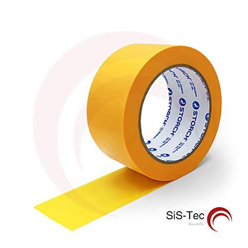 Storch SUNNYpaper Malerkreppband Klebeband - DAS GOLDENE UV MEDIUM 50 mm x 50 m (5 Stück)