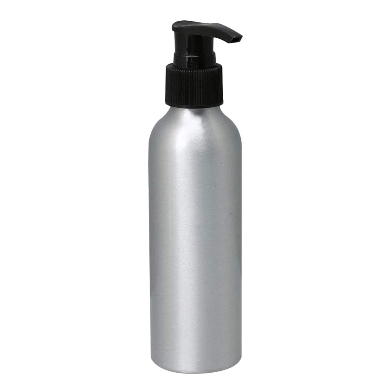 偶然怪物事前にポンプボトル 150ml コスメ用詰替え容器 詰め替え用ボトル アルミボトル 繰り返し使用 噴霧器 アルミボトル 黒ポンプヘッド