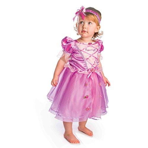 Amscan - DCPRRAP18 - Costume - bébé - Princess Rapunzel - 18-24 Mois