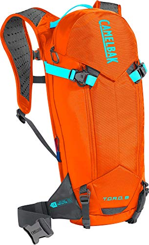 CAMELBAK T.O.R.O. Protector 8 100 oz, Red Orange/Charcoal, One Size
