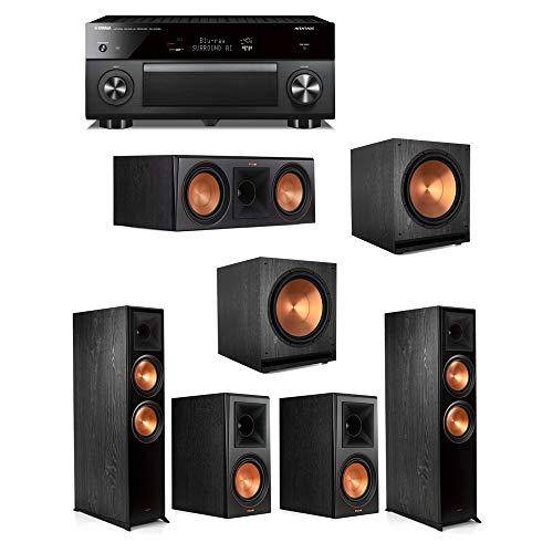 Great Deal! Klipsch5.2.2 Ebony System - 2 RP-8060FA,1 RP-600C,2 RP-600M,2 SPL-150,1 RX-A3080 Recei...