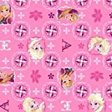 Officially Licensed DISNEY Fabric 1/2 Yard x 44 Inches Wide -- Unfinished Edge to Unfinished Edge (Need more than 1 Yard? This Will Ship as ONE CONTINUOUS PIECE) 100% Soft Cotton -- Machine Washable Wonderful for Craft Projects, Quilting & Sewing! Id...